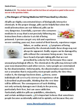 G 3 - 5 Drug Safety Awareness For Mental Health or Medical Conditions
