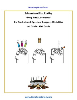 G 3 - 5 Drug Safety Awareness For Speech or Language Disabilities