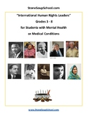 G 3 - 8 Int. Human Rights Leaders- Students w/ Psychiatric or Medical Disability