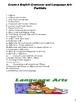 G.6 Language Arts and Grammar Booklet