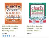 G.A.M.E.S. Gazette Bundle: Volumes 1 & 2