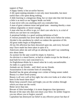 Best Quotations of George Bernard Shaw