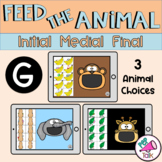 G Feed the Animal Words Initial Medial Final Articulation