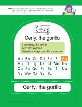 G: Gerty, the Gorilla