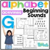 G Letter Activity Pack