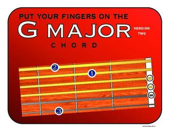 G Major Guitar Chord (Version 2)