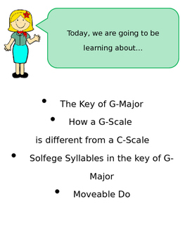 Key Signatures, Solfege in G-Major, Moveable Do Explanation Introduction