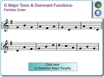 G Major and G Minor Tonal Patterns for Note Reading Practice