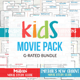 G Rated Kids Movie Bundle (pack of 4)