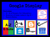 G Suite Display (A - Z)