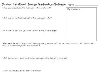 G. Washington Crosses Delaware ~ Engineering Historical Events ~ STEM Challenge