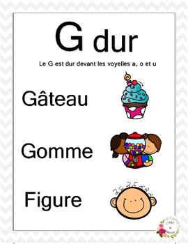 G doux et G dur