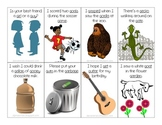 """""""G"""" in Sentences Flash Cards for Articulation Practice"""