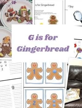 G is for Gingerbread Kit