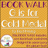 G is for Gold Medal Book Walk