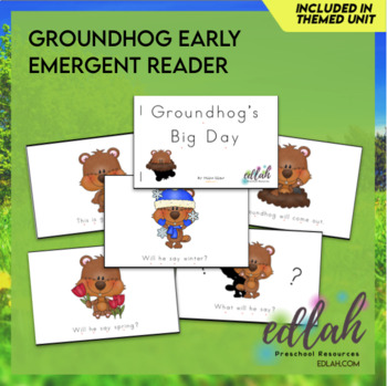 G is for Groundhog Early Emergent Reader