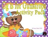 Letter of the Week - G is for Gumdrops Preschool Kindergarten Alphabet Pack