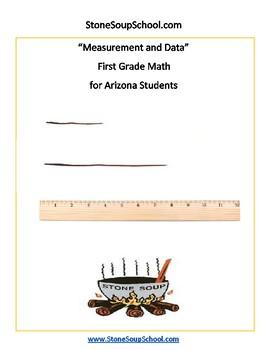 Grade 1-  Arizona -  Measurement and Data -  Common Core