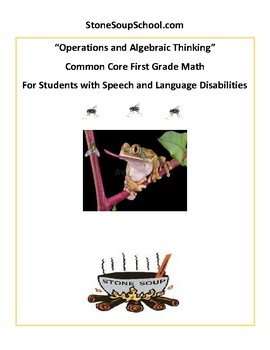 G1 -Operations and Algebraic Thinking -Students w/ Speech or Language Disorders