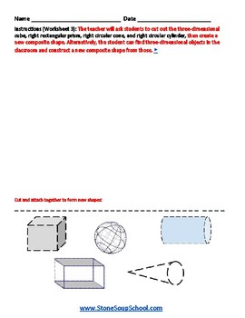 G1 Geometric Shapes -  For Students with Learning Disabilities   - Common Core