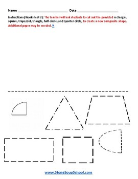 G1 Geometric Shapes - For Students with Mental Health or Medical Conditions