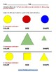 G1 Geometric Shapes -  Physical  Disabilities   - Common Core