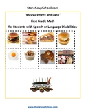 Grade 1- Measurement and Data- For Students w/Speech & Language Disabilities-CCS