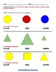 Grade 1 - Geometric Shapes - For Students with Traumatic Brain Injuries - CCS