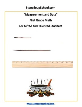G1  - Measurement and Data - For Gifted and Talented Students -  Common Core