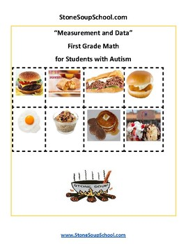 Grade 1 - Measurement and Data - for Students with Autism - CCS