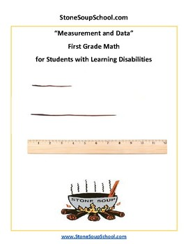 Grade 1 - Measurement and Data for Students with Learning Disabilities - CCS