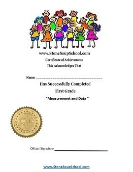 G1 - Measurement and Data - for Traditional Students - Common Core