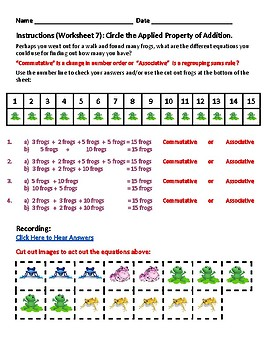 G1 -  New Mexico  -  Operations and Algebraic Thinking - Common Core