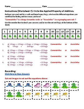 G1 -  North Carolina  -  Operations and Algebraic Thinking - Common Core