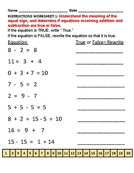 G1 TS Operations and Algebraic Thinking - Common Core