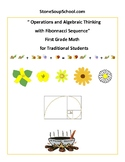 Grade 1- Operations and Algebraic Thinking for Traditional Students - CCS