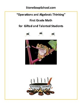 Grade 1 Operations and Algebraic Thinking - Common Core For Traditional Students