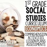 1st Grade Social Studies - Economics  (MC3 Compatible)