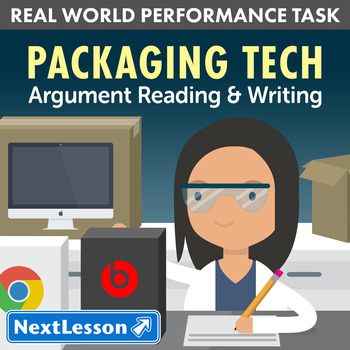 G11-12 Argument Reading & Writing - Packaging Tech Performance Task