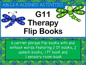 ABLLS-R ALIGNED ACTIVITIES G11 Therapy Flip Books