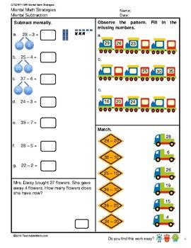 G1S2W11-MW Mental Strategies (Singapore Mastery Method)