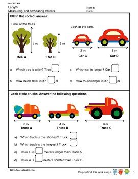 G2S1W15-MW Length Measuring and Comparing Length (Singapore Mastery Method)