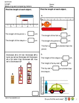 G2S1W16-MW Length Measuring and Comparing Length (Singapore Mastery Method)