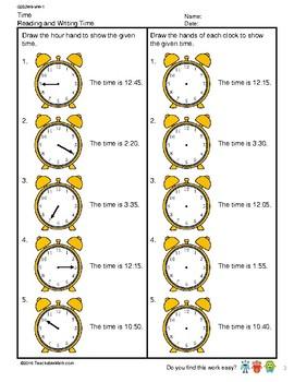 G2S2W8-MW1 Time (Singapore Mastery Method)
