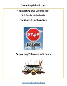 G 3 - 8 Respecting Our Differences - Supporting Tolerance - Students with Autism