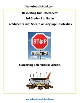 G3 - 8 - Supporting Tolerance - Students w/ Speech or Language Disabilities