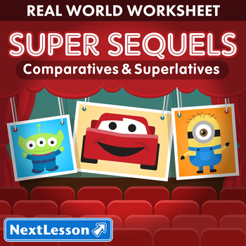 G3 Comparatives & Superlatives - 'Super Sequels' Essential: Despicable Me