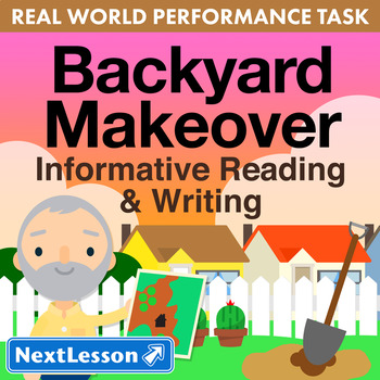 G3 Informative Reading & Writing - Backyard Makeover Perfo