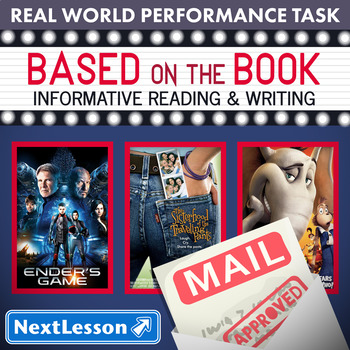 Bundle G3 Informative Reading & Writing - Based on the Book Performance Task
