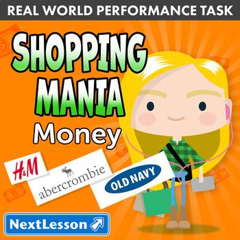 Bundle G3 Money - Shopping Mania Performance Task